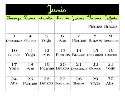 #ejercicios #calendario #fitness | Ejercicio | Pinterest