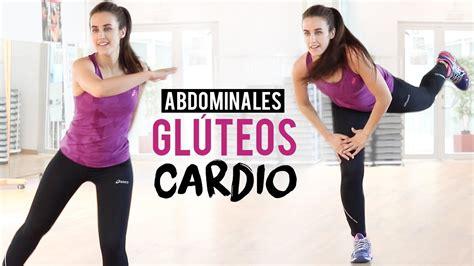 Ejercicios de abdominales, glúteos y cardio | Ejercicios ...