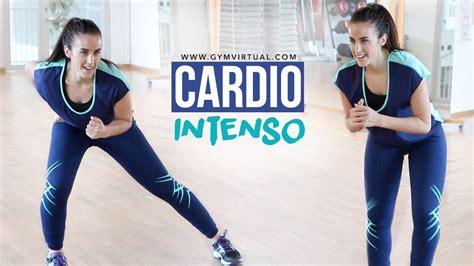 Ejercicios de cardio intenso | 20 minutos   GYM VIRTUAL