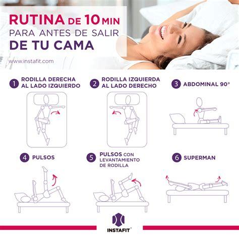 Ejercicios para hacer sin salir de la cama. | RUTINAS ...