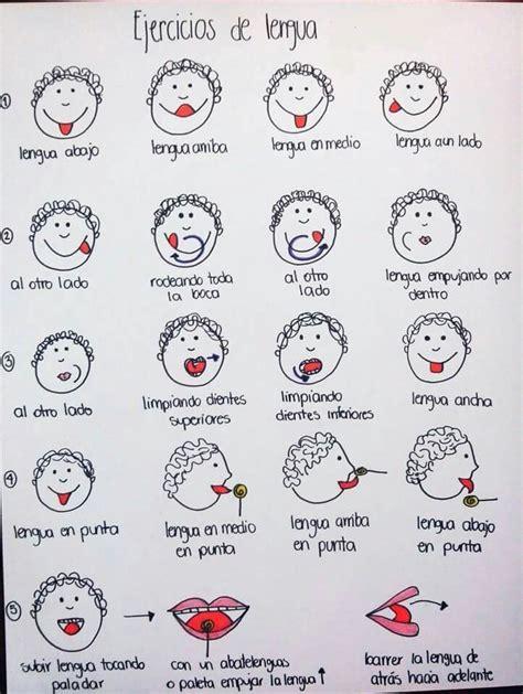 Ejercicios para la lengua | Aprende jugando | Pinterest ...