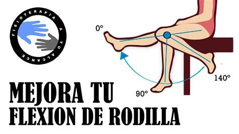 Ejercicios para mejorar la flexion de rodilla - YouTube