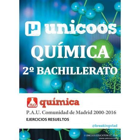 Ejercicios resueltos de Química para PAU y BACHILLERATO ...