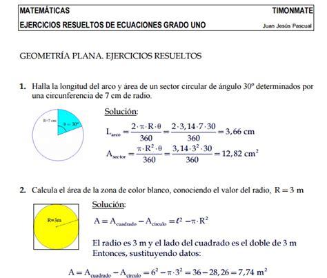 Ejercicios resueltos sobre geometría plana - Didactalia ...