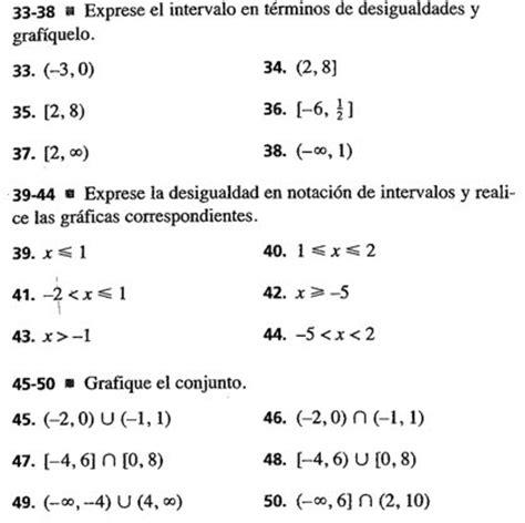 Ejercicios sobre números reales e intervalos.   Fermath