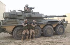 .:Ejército de tierra - Centauros y VEC para un rescate de ...