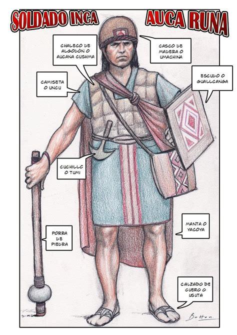 Ejército Inca: Soldados, armas y organización [Megapost ...