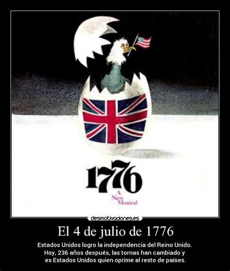 El 4 de julio de 1776 | Desmotivaciones