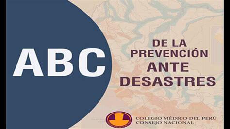 El ABC de la prevención de desastres naturales ...