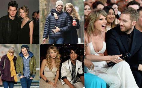 El abundante catálogo de ex novios de Taylor Swift ...