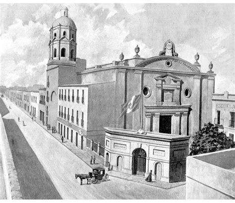 El antiguo Colegio Máximo de San Pedro y San Pablo ...