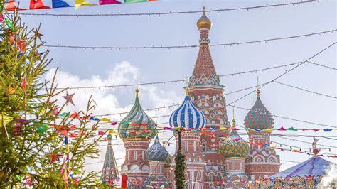 El Árbol de Navidad de la Plaza Roja de Moscú