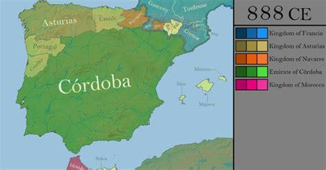 El asombroso mapa que resume toda la historia de España en ...