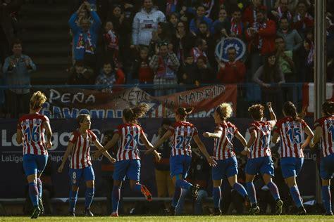 El Atlético-Barça femenino batió en asistencia al fútbol ...