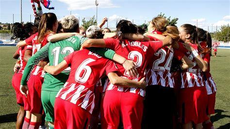 El Atlético Femenino, a por el 'doblete'