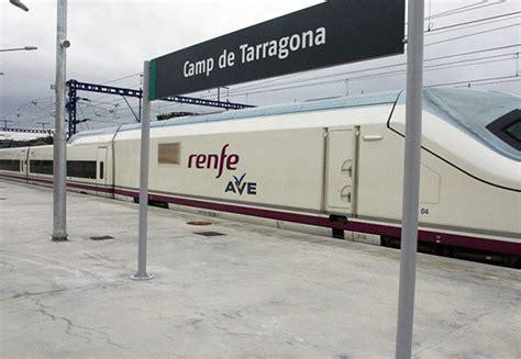 El AVE entre Zaragoza y Tarragona cumple 10 años