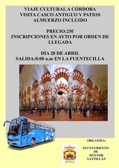 El Ayuntamiento de Huétor Santillán organiza un viaje ...