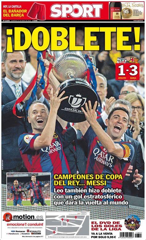 El Barça gana la Copa del 'Rey Messi' y apunta al triplete ...