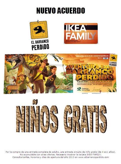 EL BARRANCO PERDIDO - ENCISO: ACUERDO CON IKEA FAMILY