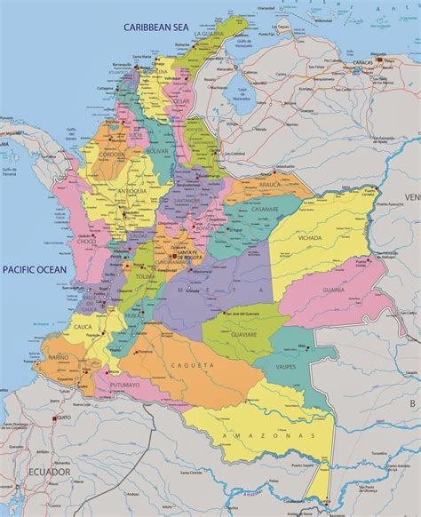 El Baúl de la Geografía (Perú y Mundo): COLOMBIA