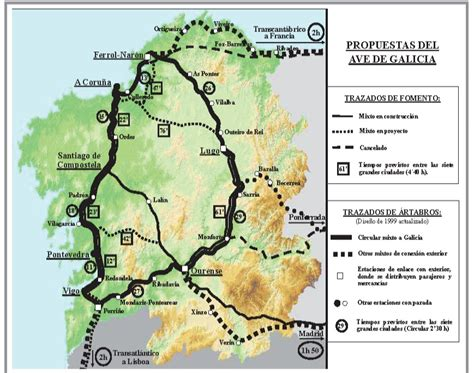 El blog de Manuel Casal Pita: Galicia necesita un AVE con ...