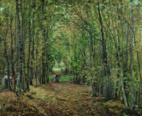 El bosque de Marly - Pissarro, Camille | Museo Nacional ...
