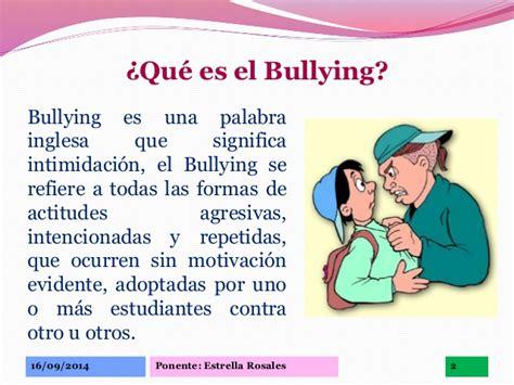 El Bullying Escolar