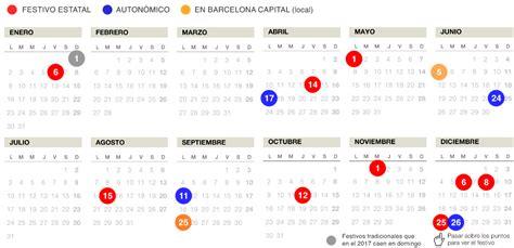 El calendario laboral del 2017 en Catalunya tendrá 15 ...