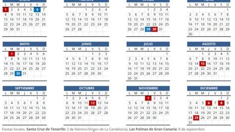 El calendario laboral para 2018 recoge diez festivos ...