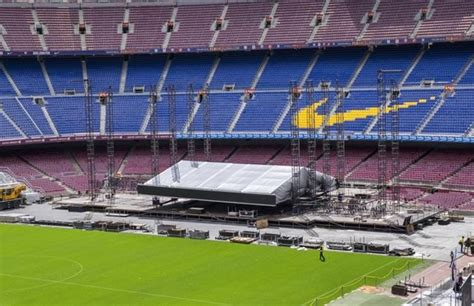 El Camp Nou se prepara para recibir a Springsteen