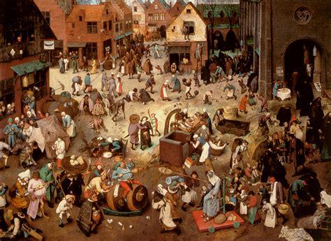 El Carnaval y la Cuaresma de Bruegel, ¿calvinistas contra ...