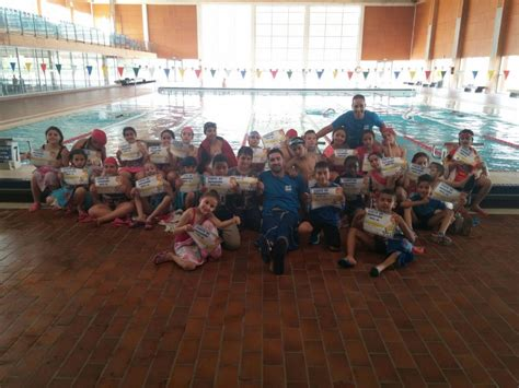 El CEIP San Juan Bautista finaliza su curso de natación ...
