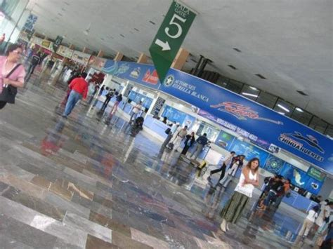 El central de autobuses del norte, Mexico City, DF, mexico ...