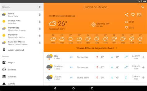 El Clima a 14 Días - Aplicaciones Android en Google Play