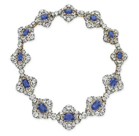 El collar de zafiros y diamantes de la Reina María ...