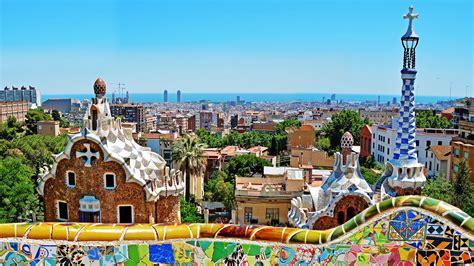 El colorido del Parque Güell, Barcelona