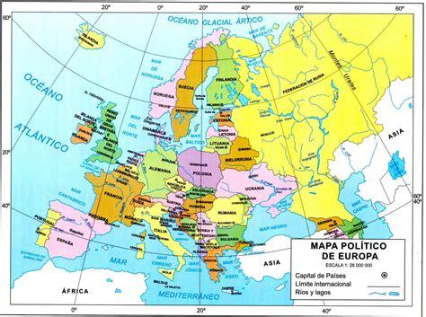 El Continente Europeo está situado entre los 35°59′ y los ...
