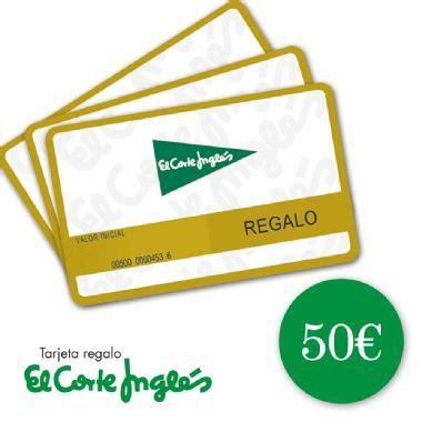 EL CORTE INGLÉS TARJETA REGALO 50 EUR Membership Rewards®