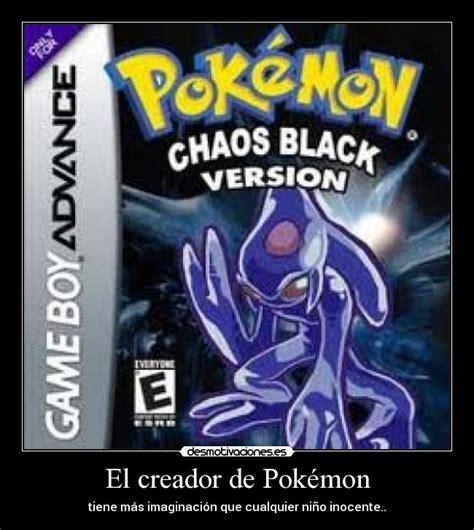 El creador de Pokémon   Desmotivaciones