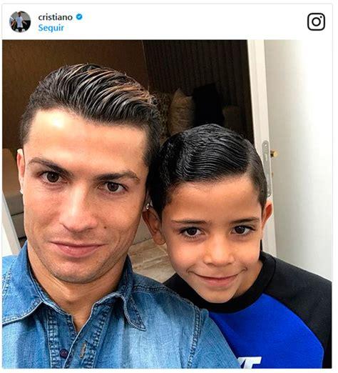 El debut de Cristiano Ronaldo Jr. en Instagram que ...