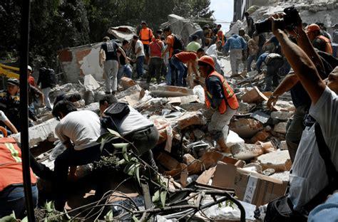 El desastre del terremoto en México: fotos y videos del ...