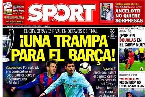 El diario 'Sport' asegura que el sorteo de la Champions ...