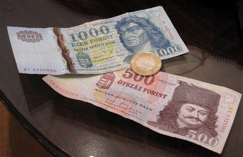 El dinero en Hungría y su moneda, el florín húngaro ...