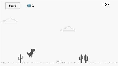 El dinosaurio de Chrome ya está como juego en Google Play