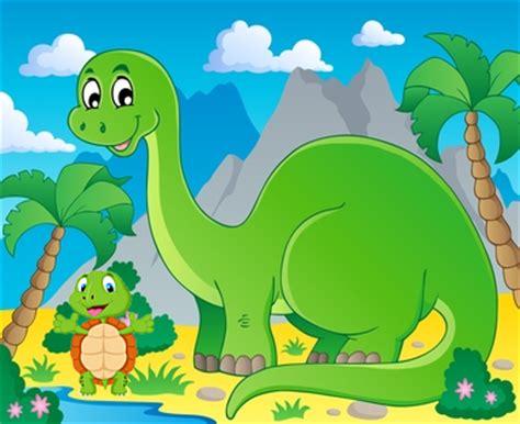 El dinosaurio y la tortuga