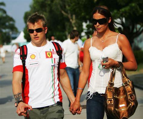 El divorcio millonario del piloto de fórmula 1 Kimi ...