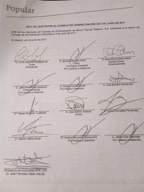 El documento del Popular que inició la intervención - Diario16