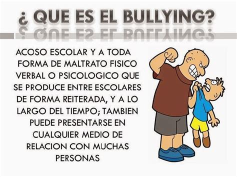 el editorial sobre bullying