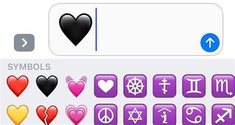 El emoji de corazón negro ya está disponible y es todo lo ...