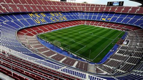 El estadio más grande de España, el Camp Nou